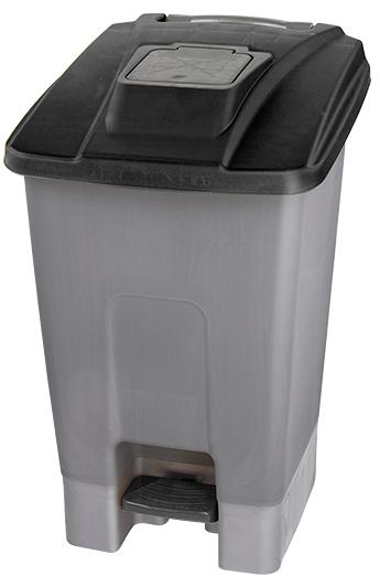 Modish Kosz na śmieci 100l otwierany nogą KP100-CZA - Sklep internetowy CX06