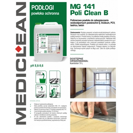 Medi-Clean MC141 Poli Clean B