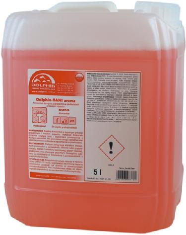 Profesjonalny środek Do Czyszczenia łazienki Dolphin Sani Aroma 5l
