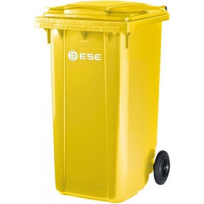 Rewelacyjny Pojemnik na odpady żółty 240 litrów ese • Cena 209 zł ESE/240/Y GA52